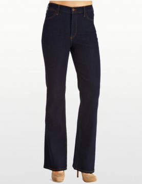 NYDJ - Sarah Classic Bootcut Jeans in Midnight Wash ( Regular...