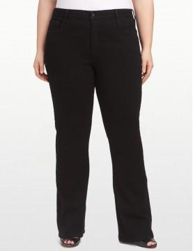 NYDJ - Hayden Bootcut Jeans in Black ( Plus ) *W4032B