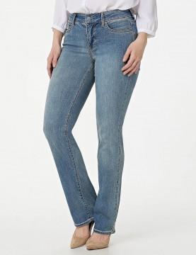 NYDJ - Marilyn Straight Leg Uplift Jeans in Celeste Cool...