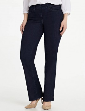 NYDJ - Marilyn Straight Leg Uplift Jeans in Rinse Cool Embrace...