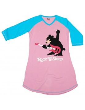 LazyOne - Rock Me to Sleep Nightshirt 100% Cotton