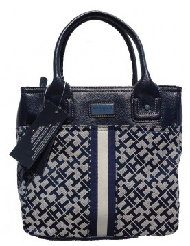 Tommy Hilfiger - Navy & Ivory Large Tote