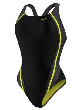 Speedo -  Fitness Quantum Splice One Piece - Citrine