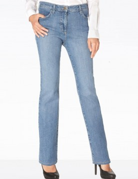 NYDJ - Marilyn Straight Leg Jeans in Mediterranean Wash *731MD