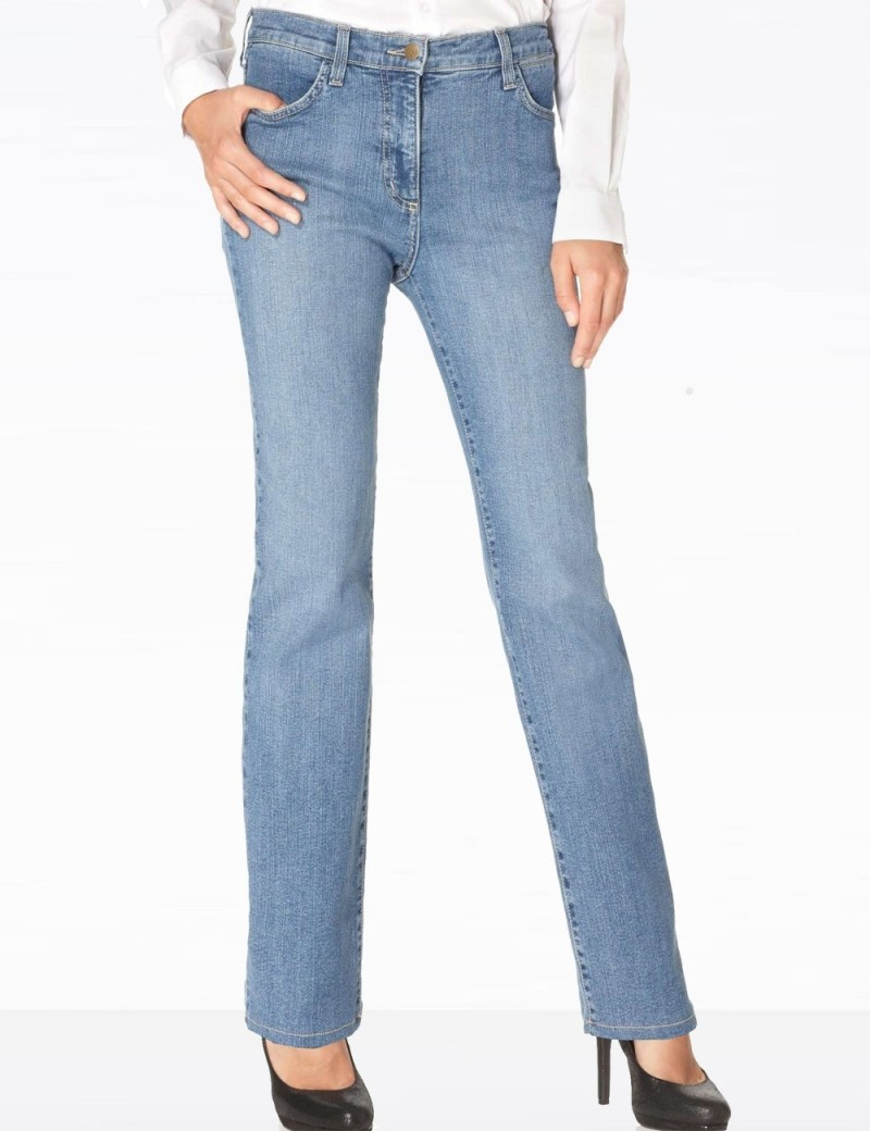 NYDJ - Marilyn Mediterranean Wash Straight Leg Jeans *731MD