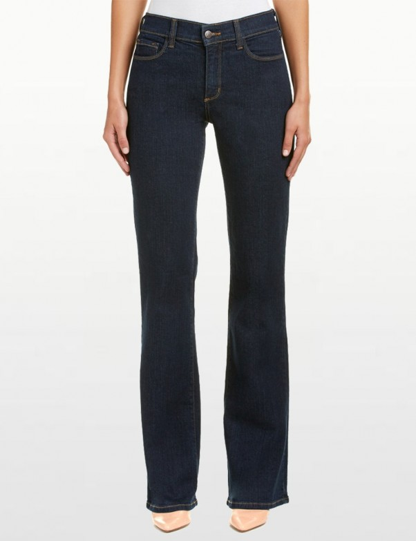 NYDJ - Sarah Classic Bootcut Jeans in Blue Black with Welt Pocket *721