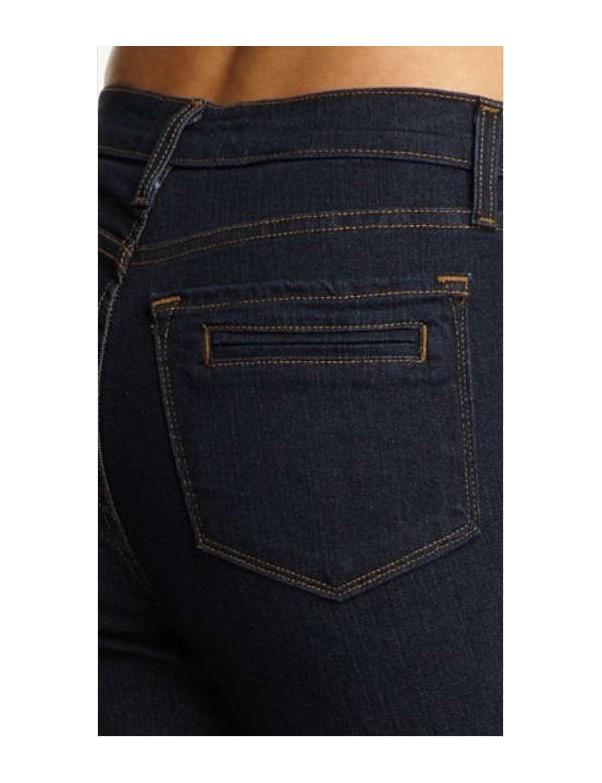 NYDJ - Sarah Blue Black Bootcut Jeans - Welt Pocket *721