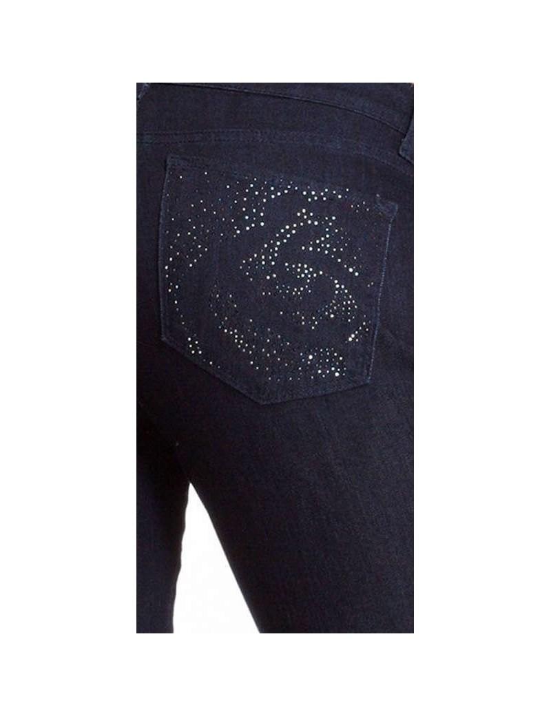 NYDJ - Marilyn Dark Wash Jeans with Embellishments *p10227T3310
