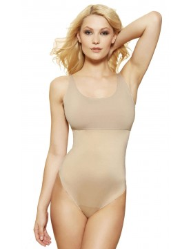Spanx - Hide & Sleek Thong Bodysuit - Style 215