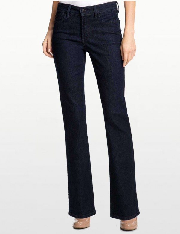 NYDJ - Barbara Bootcut Jeans in Blue Black *70955G3152