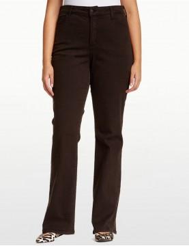NYDJ - Sarah Brown Bootcut Jeans - 400B