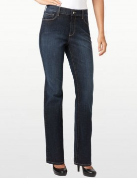 NYDJ - Barbara Bootcut Jeans in Oak Meadow Wash with V Pocket *78232OM887
