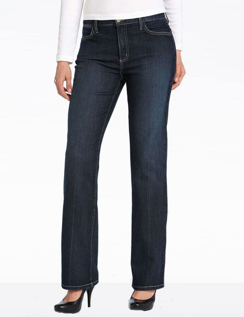 NYDJ - Dark Wash Lightweight Straight Leg Jeans *1031SJ