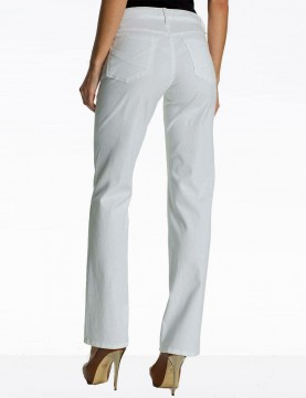 NYDJ - Hayden Straight Leg Pants in White Chino *52063