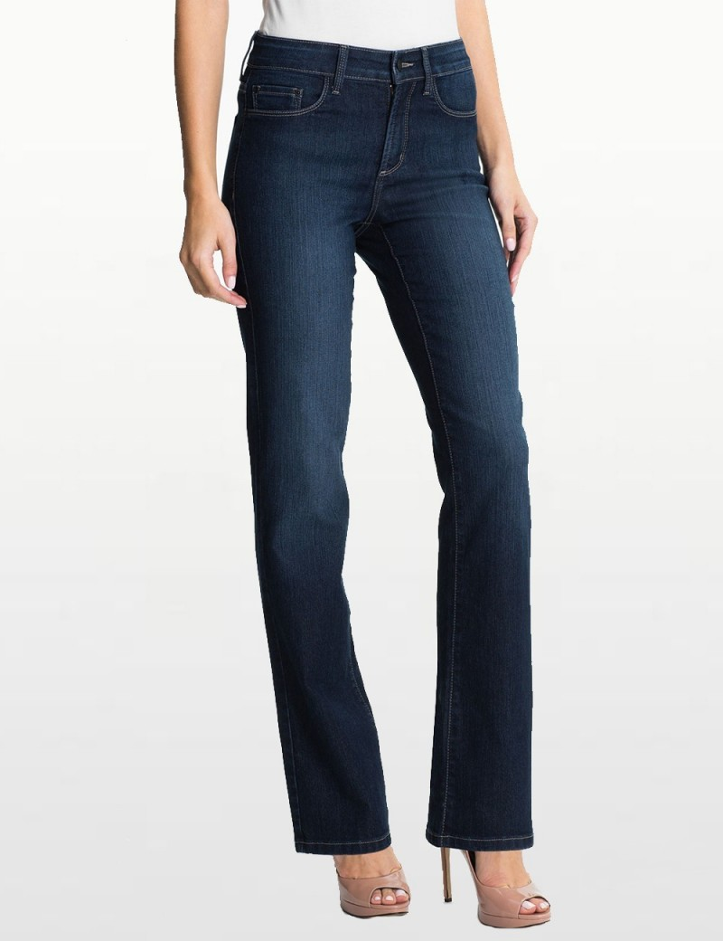 NYDJ - Marilyn Hollywood Wash Jeans with Embellishments *10227HY3102