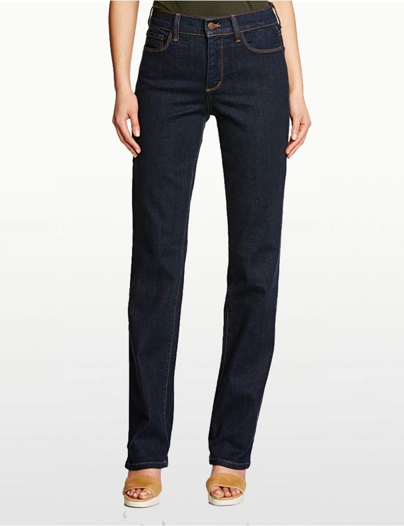 NYDJ - Marilyn Straight Leg Embellished Jeans *J731T3134
