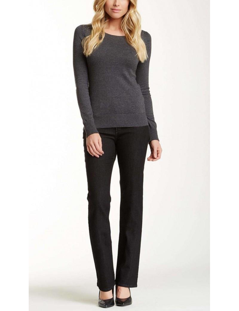 NYDJ - Marilyn Black Straight Leg Jeans *28227T943