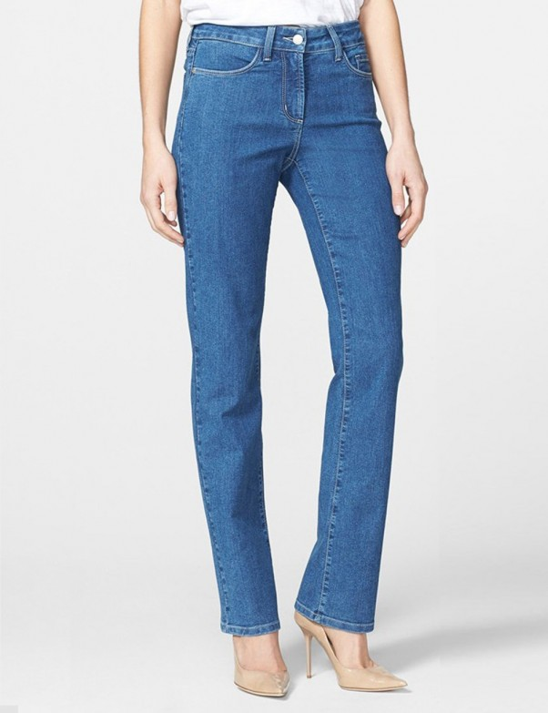 NYDJ - Marilyn Embellished Straight Leg Jeans in Maryland Wash *M10J31MY4270