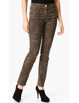NYDJ - Sheri Skinny Leg Jeans Nature Print  *30265dtp39