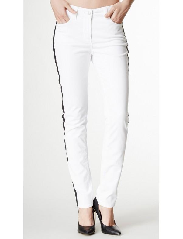NYDJ - Sheri Skinny Leg Jeans - White Tuxedo Jeans *30265DT3243