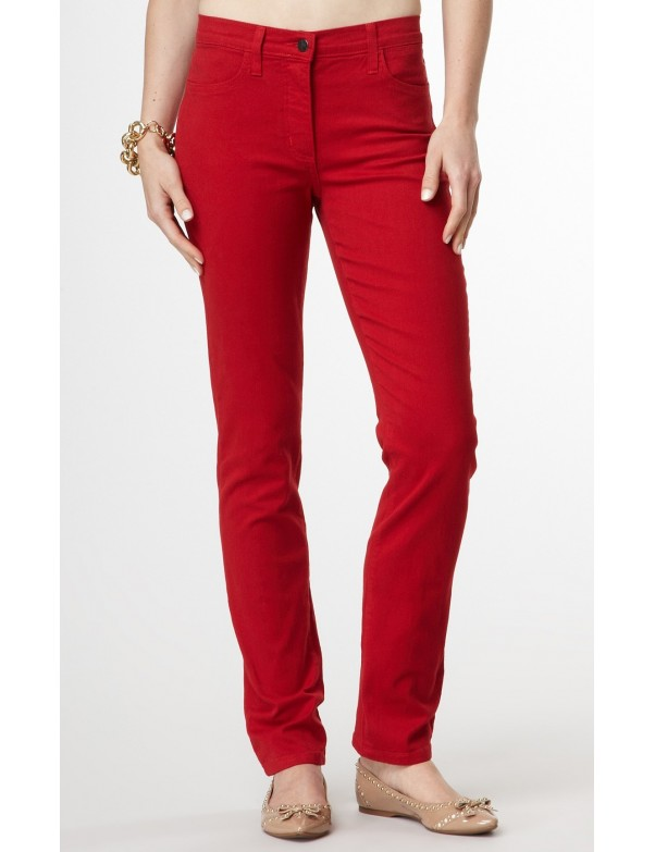NYDJ - Twiggy Skinny Leg Jeans in Red *J48017DT