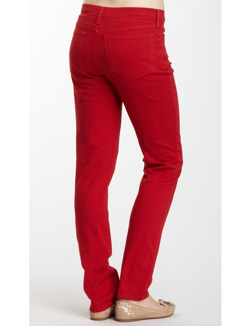 NYDJ - Twiggy Skinny Leg Jeans in Red *J48017DT