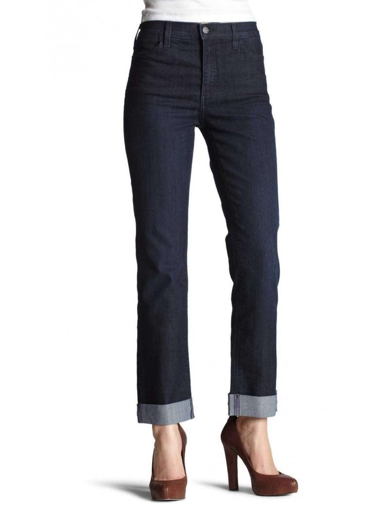 NYDJ - Hepburn Roll Cuff Boyfriend Jeans in Dark Wash *1079