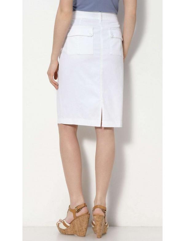 NYDJ - White Chino Skirt *52271