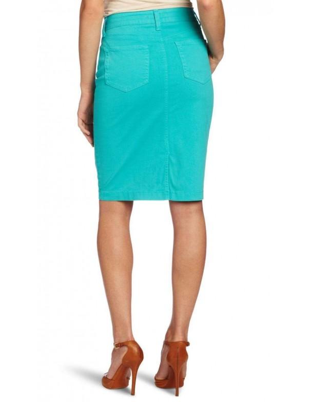 NYDJ - Emma Pencil Skirt - Aquamarine *32561