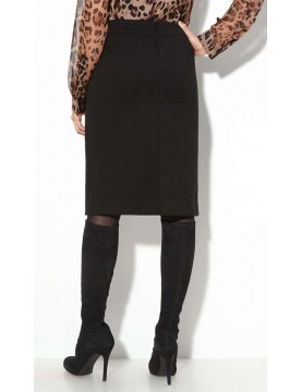 NYDJ - Black Ponte Knit Pencil Skirt *11416