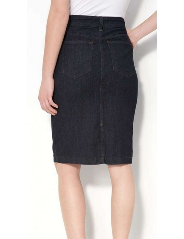 NYDJ - Emma Pencil Skirt - Dark Wash *10276