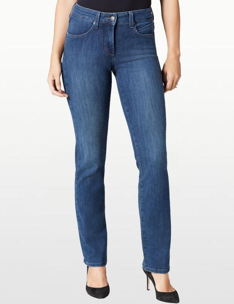 NYDJ - Marilyn Straight Leg Jeans in Alberta Wash *M17L61A5 - Tall