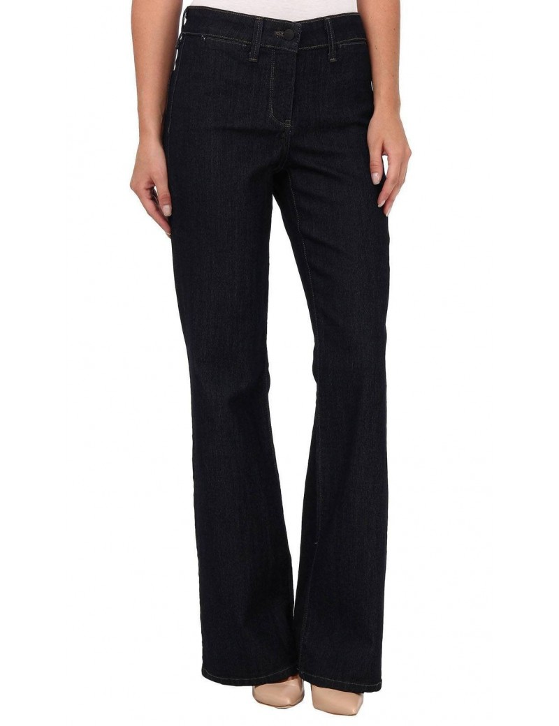 NYDJ - Isabella Wide Leg Trousers Jeans in Dark Wash  *M10L59 - Tall