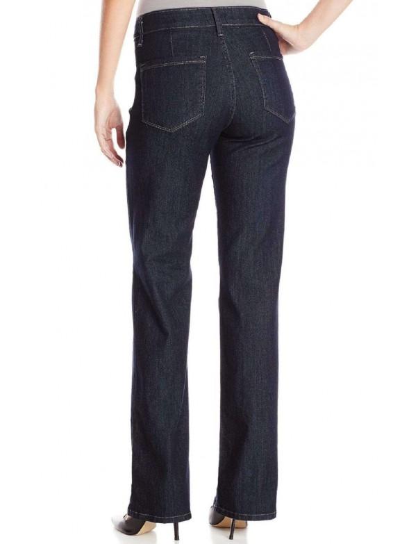NYDJ - Isabella Wide Leg Trousers Jeans in Dark Wash *M10L59 - Tall