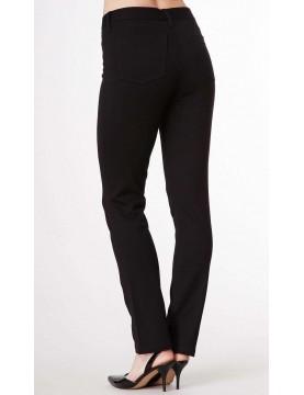 NYDJ - Charlotte Black Ponte Straight Leg Trousers *11851