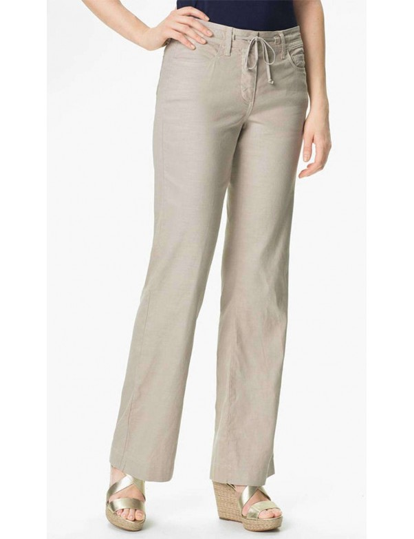 NYDJ - Lindsey Linen Wide Leg Pants *M58A83DT