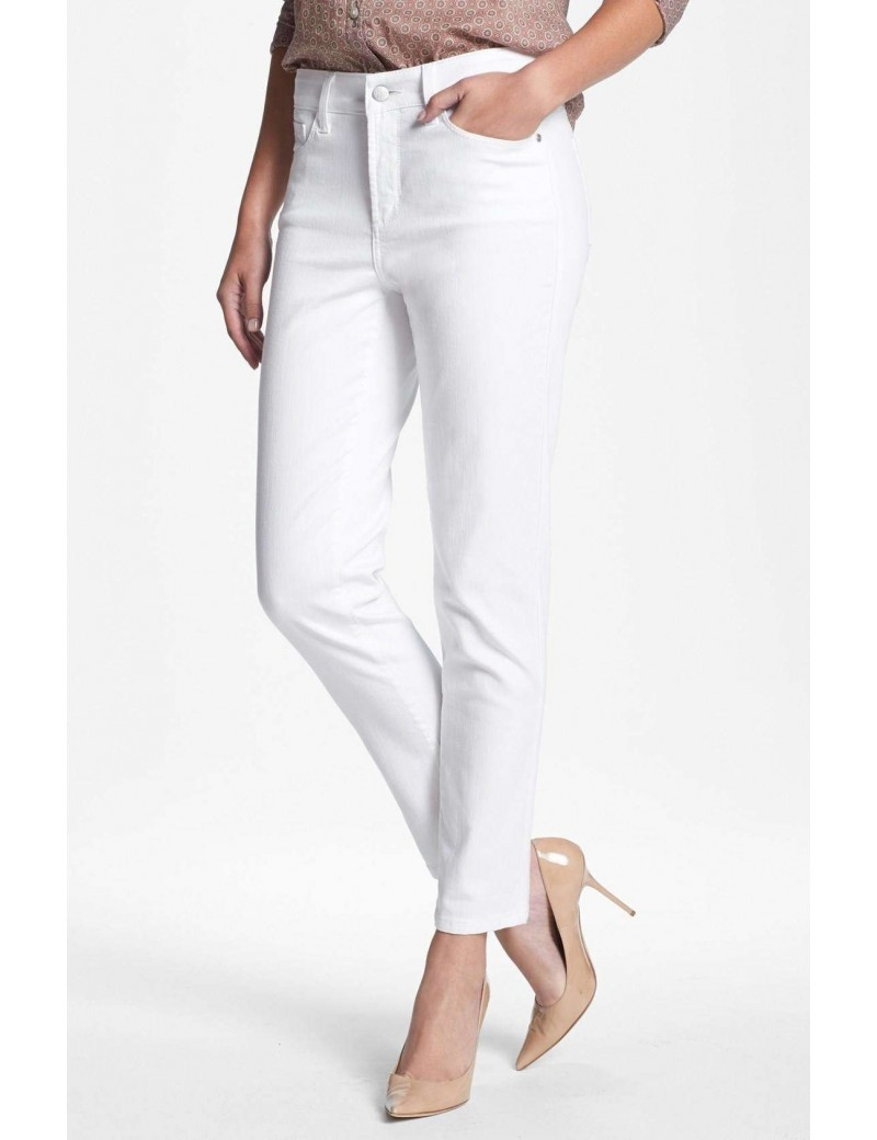 NYDJ - Alisha Fitted Ankle Pants - White *77610DT
