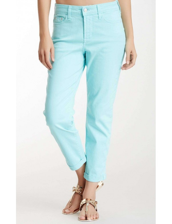 NYDJ - Kendall Roll Cuff Ankle Pants - Chevy Blue *77637DT