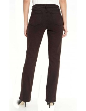 NYDJ - Marilyn Straight Leg Sueded Denim in Expresso *P46227ODT