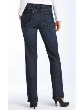 NYDJ - Marilyn Dark Wash Straight Leg Jeans *p1031SJ - Petites