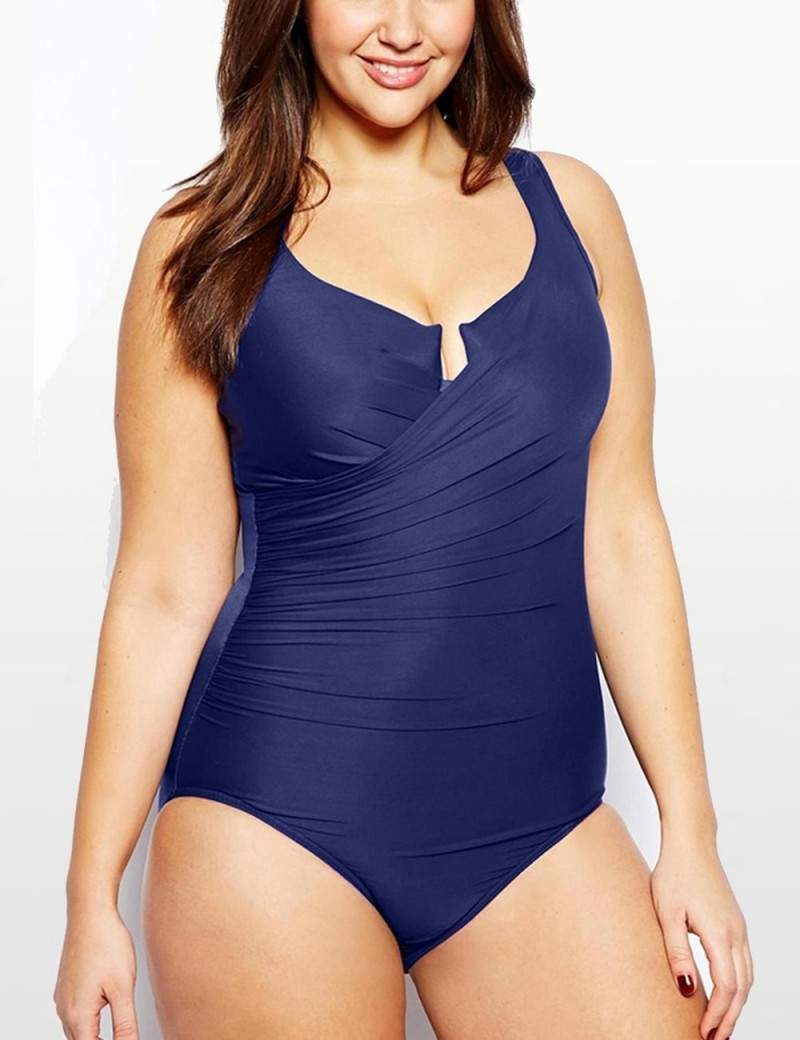 Miraclesuit - Escape One Piece Swimsuit - Navy