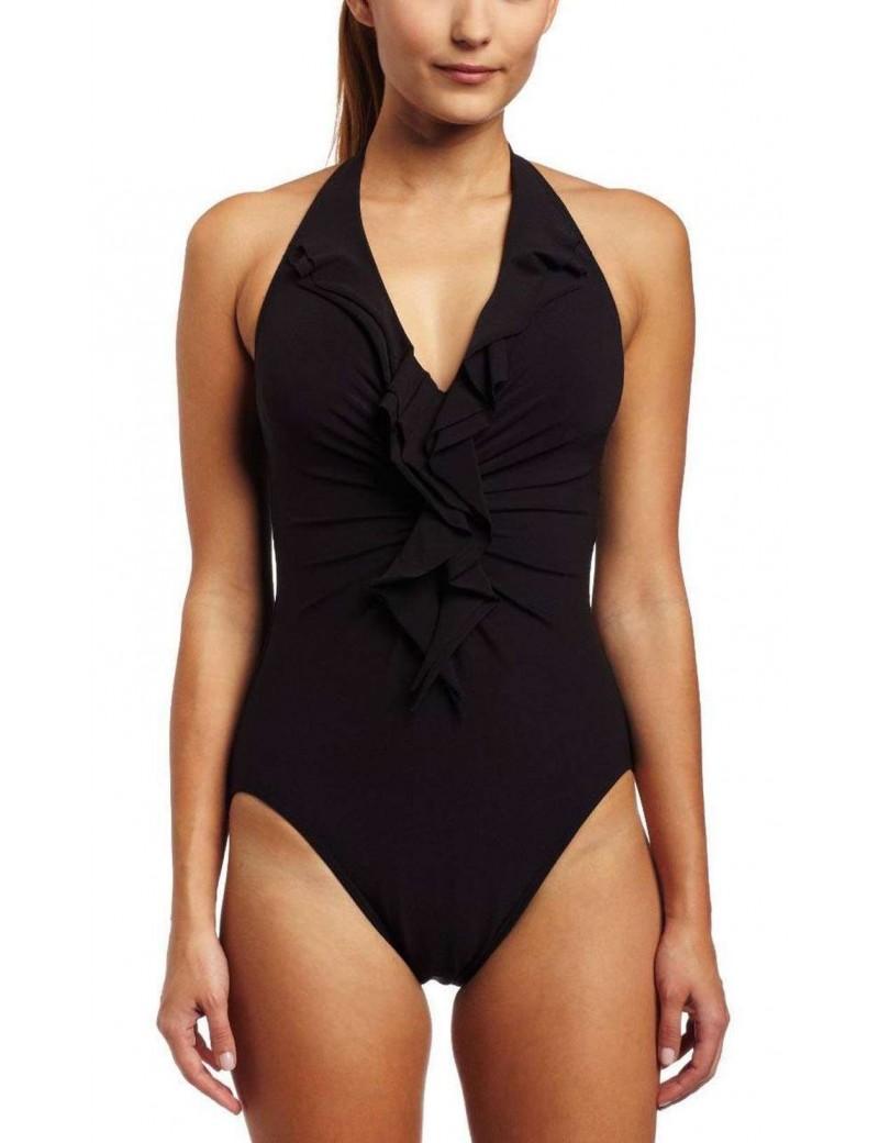 Miraclesuit - Isabella Halterneck Swimsuit - Black