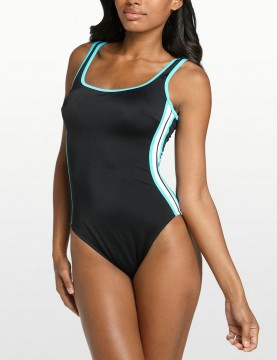 Miraclesuit - Delta One Piece Swimsuit -  Black & Surf