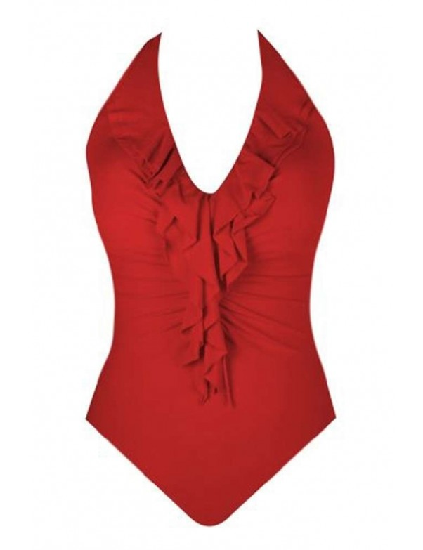 Miraclesuit - Isabella Halterneck Swimsuit - Solid Colors