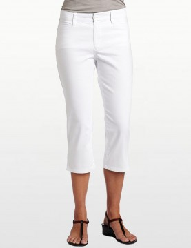 NYDJ - White Capri with Rhinestones *55308