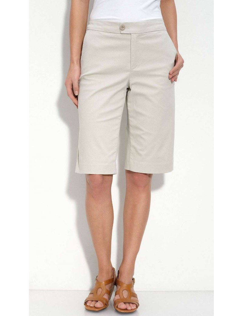 NYDJ - Not Your Daughter's Jeans Stone Chino Bermuda Shorts *52303