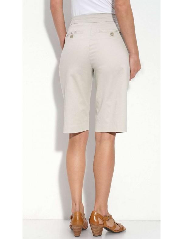 NYDJ - Stone Chino Bermuda Shorts *52303