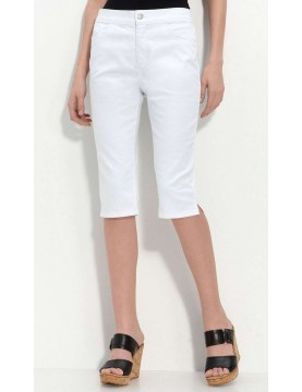 NYDJ - Clamdigger Shorts - White *55379