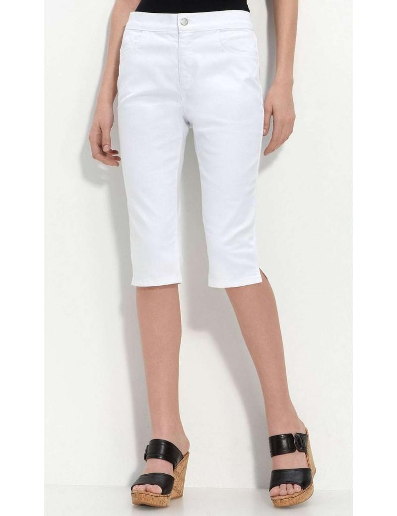NYDJ - Clamdigger Shorts - White *55379
