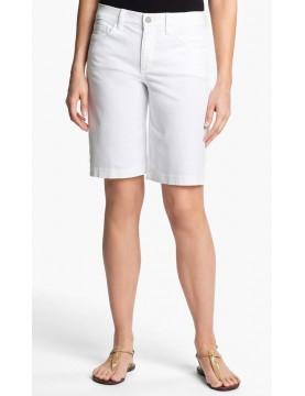 NYDJ - White Teresa Shorts *M77A79DT3292
